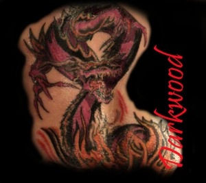 Dragon flash for Red tattoo ink problems